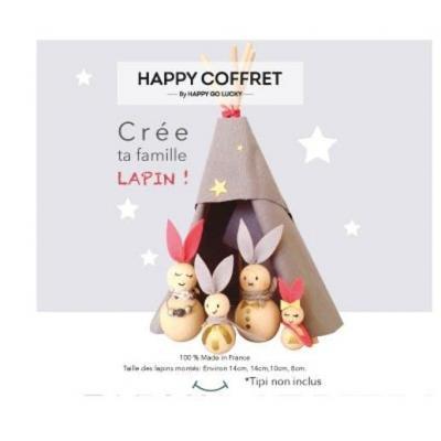 Kit Crée ta famille lapin
