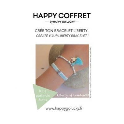 Kit Crée ton duo de bracelets velours et liberty